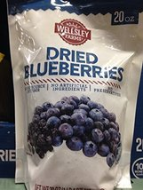 Wellsley Farms Dried Blueberries, 20 oz. A1 - $22.01