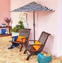 9 Foot Half Round Market Umbrella Outdoor Shade... - $99.95
