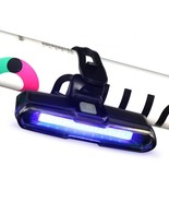 Rechargeable Bike Tail Light USB IPX4 Waterproof 5 Modes Bicycle NEW ZYZ... - $11.26