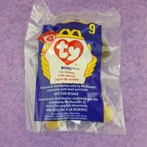 TY Teenie Beanie Baby Bones Dog Toy Animal 1998 McDonalds #9  - $7.92
