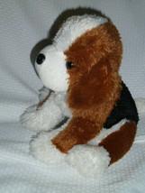 """ANIMAL ADVENTURE 2011 Beagle dog plush toy NWOT - 10""""H - $22.76"""