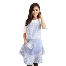 George Jimmy Cute Fashion Apron Unique Dress Style Perfect Waist Design-Blue - $19.34