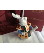 DEPARTMENT 56 ALICE IN WONDERLAND CANDLE CROWN COLLECTION White Rabbit - $18.33