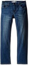 Levi's Boys' Big 511 Slim Fit Performance Jeans, Evans Blue, 8 - $24.71