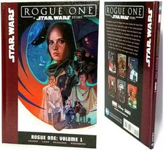 STAR WARS Rogue One Volume 1 Hardcover Book (2019) by Marvel Disney Luca... - £12.92 GBP