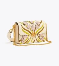 TORY BURCH CHELSEA APPLIQUÉ CONVERTIBLE SHOULDER BAG Pink Meridian - $399.00