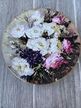"Vintage Royal Doulton Hahn Vidal 10 1/2"" Plate From The Poet's Garden 1977 - $16.99"