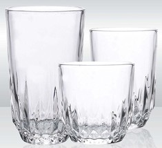 Glassware Drinking 18-Piece Set Water and Juice Best and Unique Drinking... - $30.00