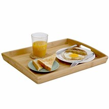 Joy&Grace 100%BambooWoodButlerServingTraywithHandles - Breakfast/... - $26.02