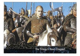 Lord of the Rings Return of the King Promo Wizard Card P3 NM/MT 2003  - $3.95