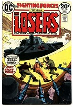 OUR FIGHTING FORCES #146 1973-DC-THE LOSERS-CAPT STORM-JOE KUBERT vf- - $18.92