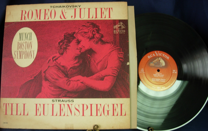 Boston Symphony Orchestra - Charles Munch - Romeo & Juliet - RCA Victor LM-2565