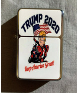Trump 2020 D3 Flip Top Oil Lighter Windproof - $12.82