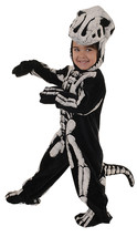 T-Rex Fossil Toddler Child Costume Dinosaur Skeleton Bones Halloween 2T-4T - $23.75