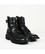 Louis Vuitton Leather Brogue Ankle Boots Men's SZ 8 - $635.00