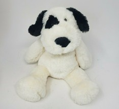 "11"" MANHATTAN TOY CO 2019 BLACK & WHITE PUPPY DOG STUFFED ANIMAL PLUSH T... - $27.70"
