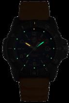 Luminox 3603 Navy Seal Men's Orange Rubber Strap Blue Dial 45mm Case Watch image 2