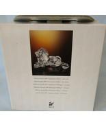 Swarovski Crystal Figurine African Lion Year 1995 in Original Box - $134.53