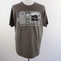 Harley Davidson Museum Milwaukee Gray Graphic T Shirt Mens Sz XL - $33.77