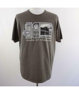 Harley Davidson Museum Milwaukee Gray Graphic T Shirt Mens Sz XL - $33.77