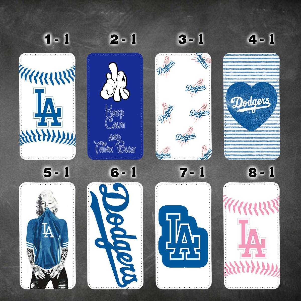 LA Dodgers Los Angeles galaxy note 9 note 3 4 5 8 wallet case J3 J7 2017 J7 2018