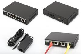 Digitus Professional DN de 95320 Fast Ethernet PoE Switch 4 ports avec 1... - $63.91