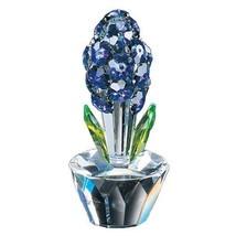 Crystal World Hyacinth Figurine New In Box - $58.29