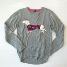 Gap Kids Dog with Jewel Crown Graphic Gray Sweater Shirt - XXL (14-16) - NWT - $14.99