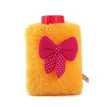 Mini Bowknot Washable Soft Cover Hot Water Bottle Warm Hand Bag-Random Color - $17.85