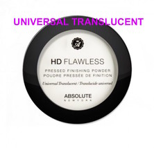 ABSOLUTE NEW YORK HD FLAWLESS PRESSED FINISH POWDER UNIVERSAL TRANSLUCENT - $6.52