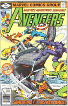 The Avengers Comic Book #190, Marvel Comics 1979 VERY FINE+ - $8.79