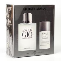 Giorgio Armani Acqua Di Gio 3.4 Oz Eau De Toilette Cologne Gift Set image 4