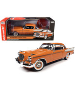 1957 Studebaker Gold Hawk Coppertone Orange and White 1/18 Diecast Model... - $152.39