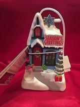 2009 Hallmark Caroling Cottages Season's Greetings  Music  Lights  Home ... - £21.02 GBP