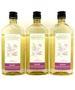 3 Bath & Body Works Aromatherapy Sleep Rose + Lavender Wash & Foam Bath ... - $33.62