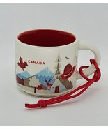 Starbucks Been There Series Across The Globe Ornament 2 fl oz - Canada - $19.29