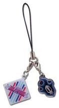 Bleach Fire Skull w/ Bleach Logo Diamond Phome Charm Brand NEW! - $12.99