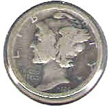 Primary image for Nice 1924 P Mercury dime