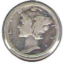 Nice 1924 P Mercury dime - $4.00
