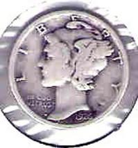Nice 1926 P Mercury dime - $4.00