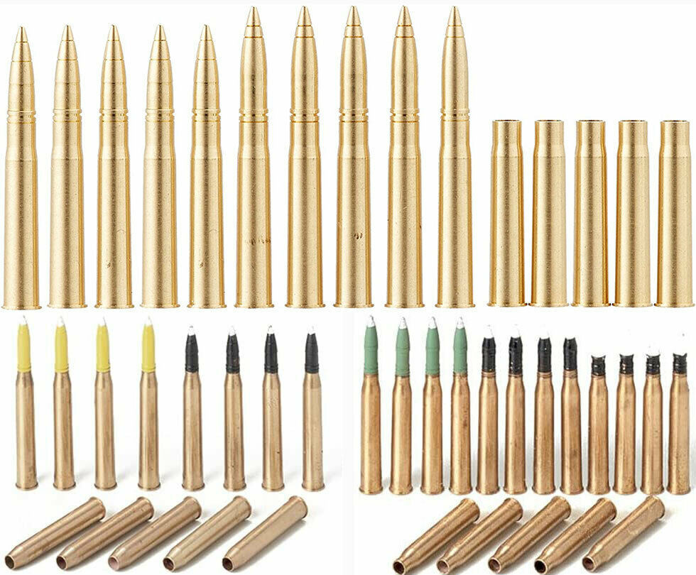 Primary image for 3 Tamiya Brass Diorama Projectiles - King Tiger 88mm, Panther 75mm, Tiger 1 88mm