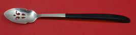 "Contrast By Lunt Sterling Silver Olive Spoon Pierced Long 7 5/8"" Custom - $149.00"