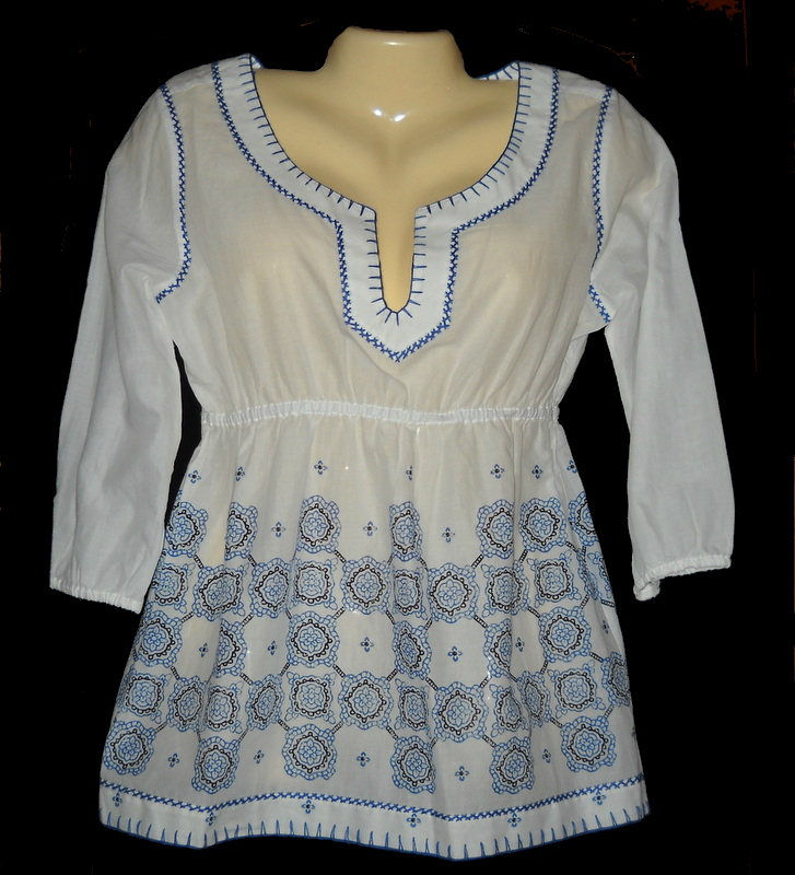 Find great deals on eBay for embroidered white peasant blouses. Shop with confidence.