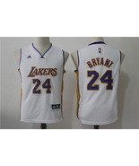 youth Lakers #24 kobe bryant jersey white basketball jersey.jpg - $26.66