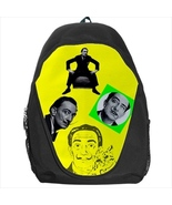 backpack school bag salvador dali ocelot mustache - $39.79