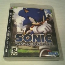 SONIC THE HEDGEHOG PS3 SONY PLAYSTATION VIDEO GAME    - $7.25
