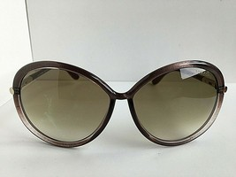 Tom Ford CTF16259F Clear Purple Oversized Women's Sunglasses T1 - $129.99