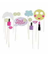 "Paper Spa Party Photo Stick Props (12 Pack) on a 12"" Wood Stick. - $9.49"