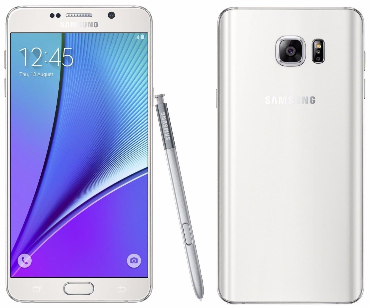 Samsung Galaxy Note 5 SM-N920S 32GB UNLOCKED White Note5 Mobile