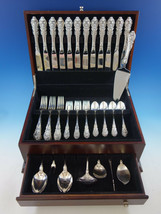 Sir Christopher by Wallace Sterling Silver Flatware Set 12 Service 56 Pcs Dinner - $3,995.00
